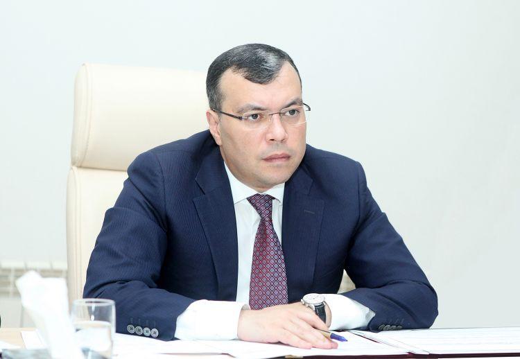 Sahil Babayev nazir təyin olundu