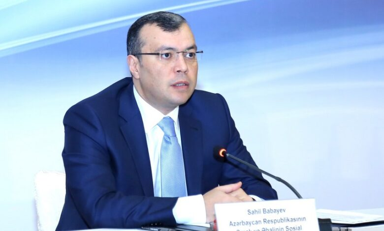 Sahil Babayev nazir